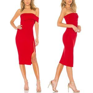 Michael Costello x REVOLVE Audrey Dress in Red S M